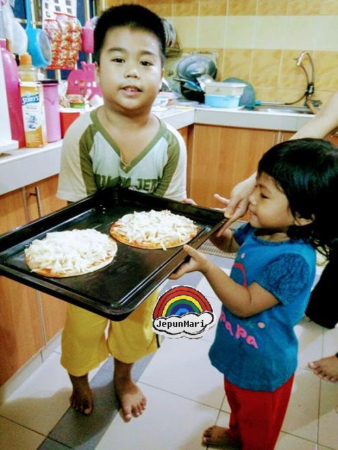 Pizza Paratha Cheese leleh tak hingat