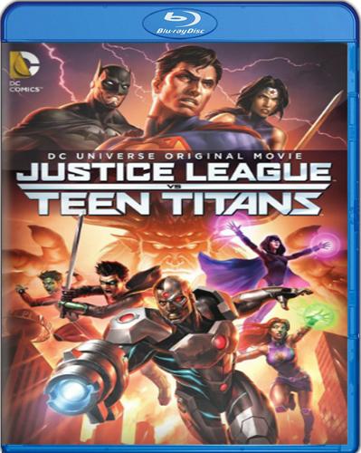 Justice League vs. Teen Titans [2016] [BD25] [Latino]