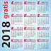 GRATIS Kalender 2018 plus Libur Nasional versi Corel Draw
