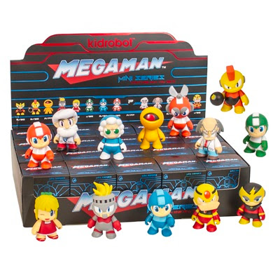 Mega Man Mini Figure Series by Kidrobot x Capcom