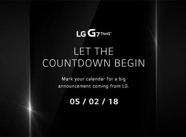 LG G7 ThinQ Dikonfirmasi Akan Diluncurkan Pada 2 Mei Mungkin dengan Dual Camera
