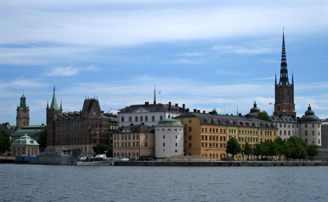 Una de las islas imprescindibles de Estocolmo, Riddarholmen