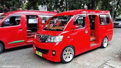 Modifikasi Daihatsu grand max.