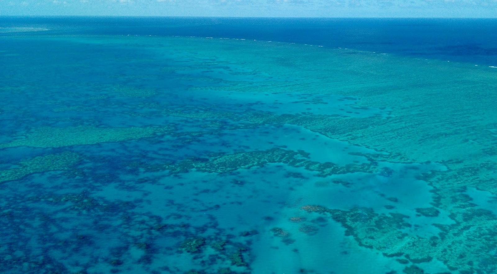 A Grande Barreira de Corais na Austrália