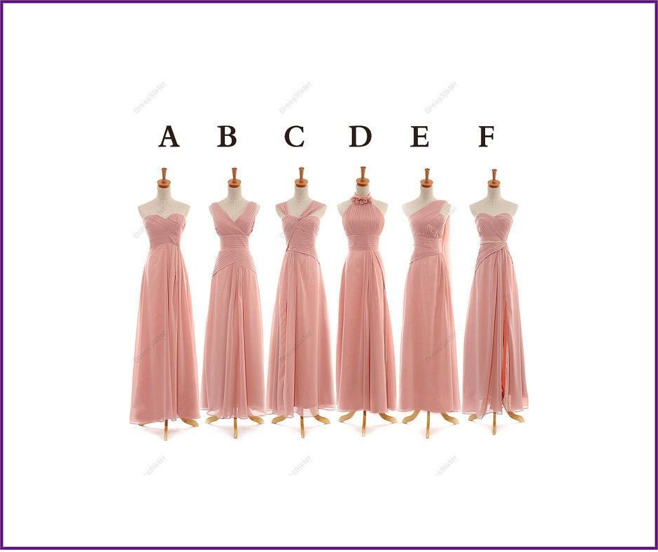Bridesmaids Dress Shopping - Part II (Cont'd) - A guide to Color