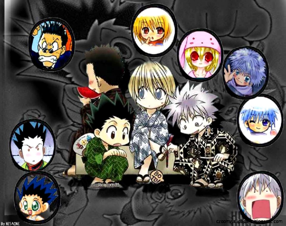 View and download this 3300x1862 hunter x hunter wallpaper with 30 favorites, or browse the gallery. Anime Hunter X Hunter Chibi | Zoom Wallpapers