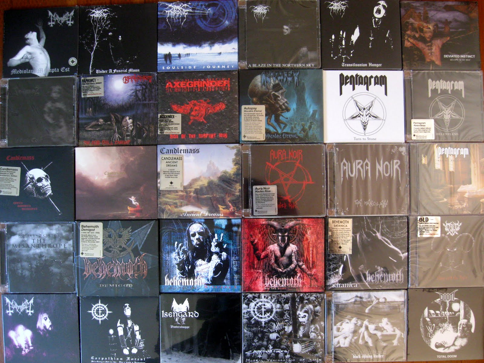 Black Raven Records New Arrivals August 3rd 2011