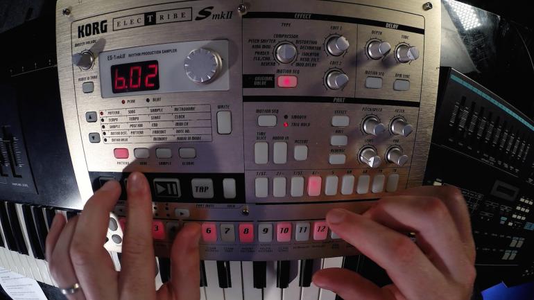 BorgTribe : Korg Electribe ES1 Mod to record chromatic notes