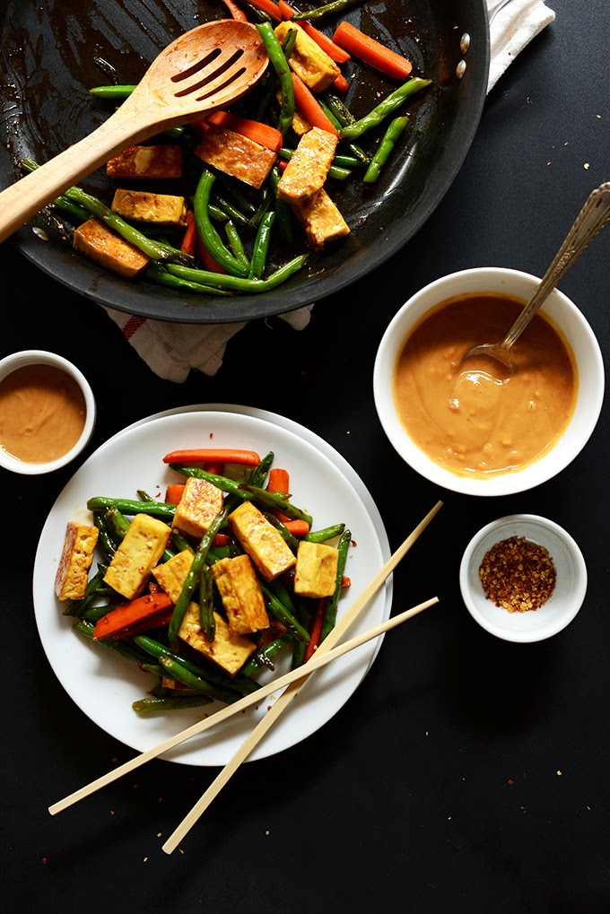 Tofu Recipe That Tastes Good Veggie Tofu Stir Fry image