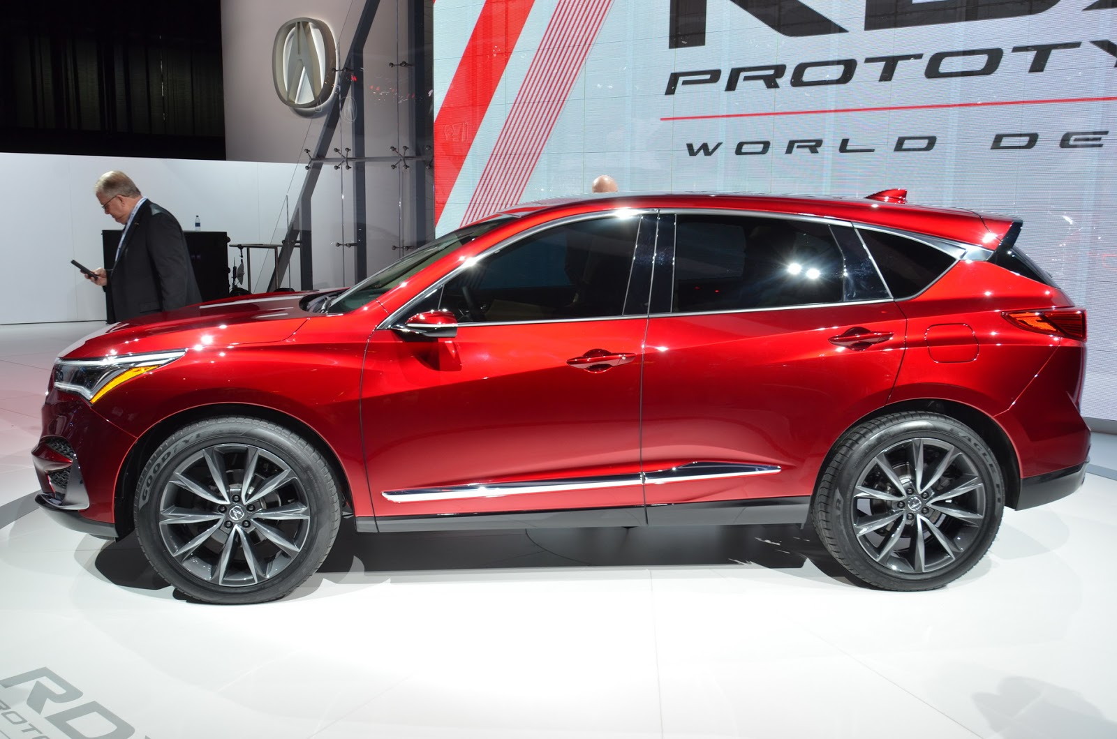 2019 Acura RDX Prototype (Almost) Ready For The Road