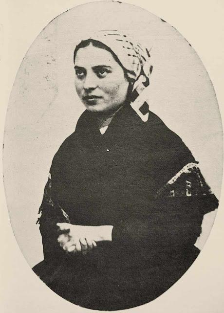 Santa Bernadette no outono de 1863