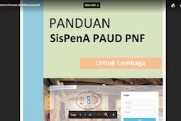 Download Panduan Sistem Informasi Akreditasi PAUD