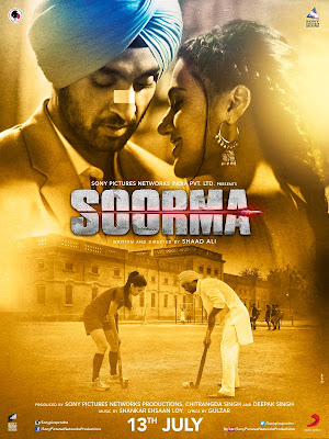 Soorma 2018 Hindi 720p BluRay 950MB