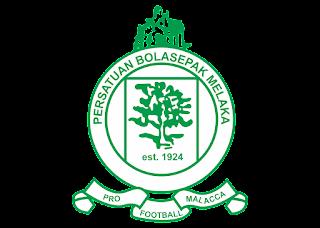 Persatuan bola sepak melaka Logo Vector