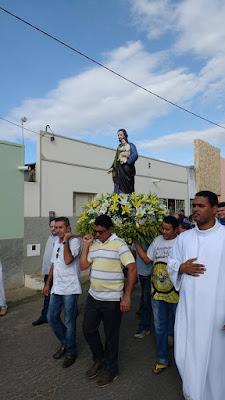 Missa de encerramento da festa de São José em Almino Afonso - RN
