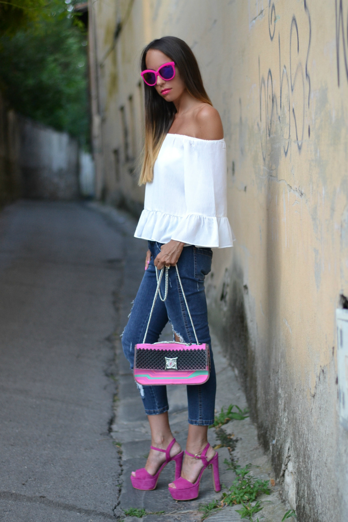 look accessori rosa