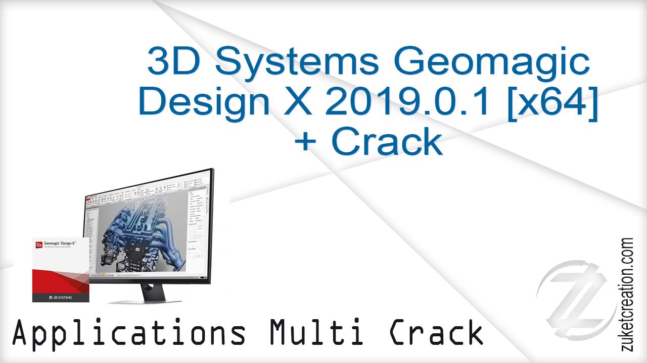 Aplikasi Cracked: 3D Systems Geomagic Design X 2019 0 1 [x64