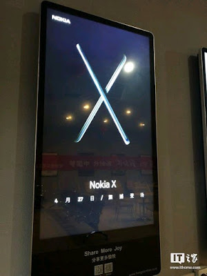 Nokia X Coming on the 27th of April
