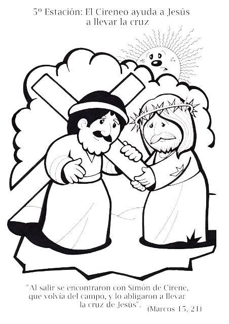 ViaCrucis para nios  Compartiendo por amor