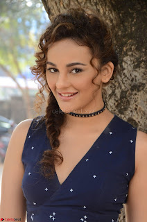 Seerat Kapoor Stunning Cute Beauty in Mini Skirt  Polka Dop Choli Top ~  Exclusive Galleries 041.jpg