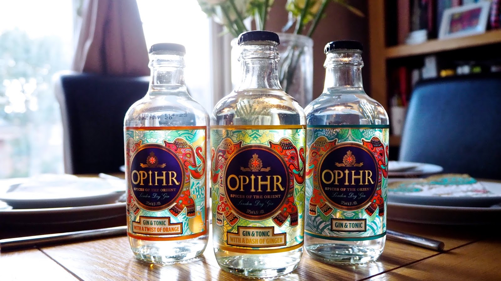 Opihr Ready-to-Drink Gin & Tonic in 3 flavours