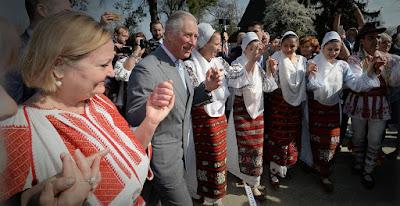 brit királyi család, diplomácia, Károly herceg, Románia, Sorin Grindeanu