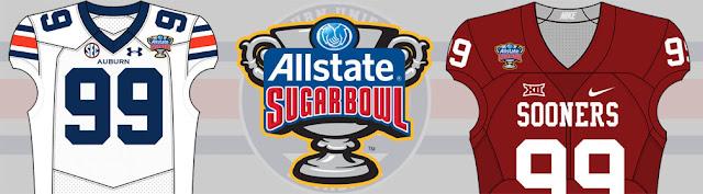 2017 Sugar Bowl Auburn Oklahoma