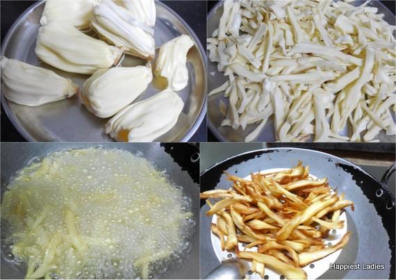 Raw Jackfruit Chips Recipe