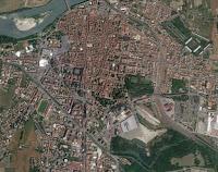 resti della Cittadella di Casale Monferrato da Google Maps