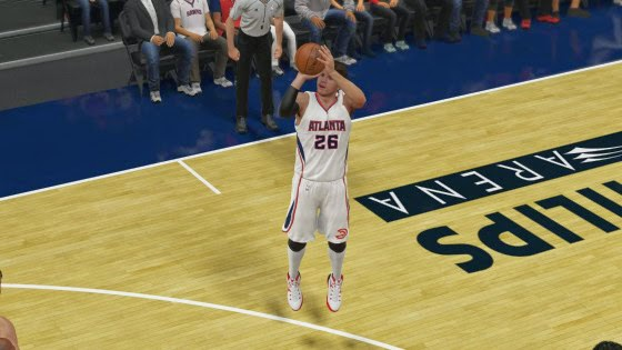 NBA 2K15 Kyle Korver Shooting Upgrade