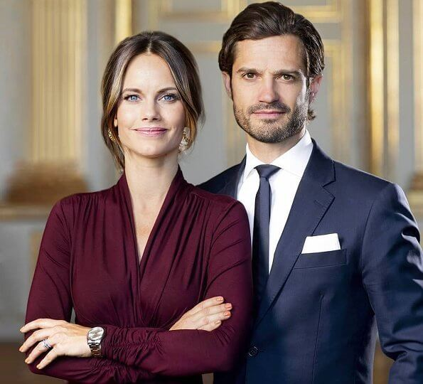 Prince Carl Philip and Princess Sofia shared a new photo of themselves on their Instagram page
