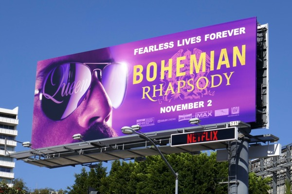 Bohemian Rhapsody movie billboard