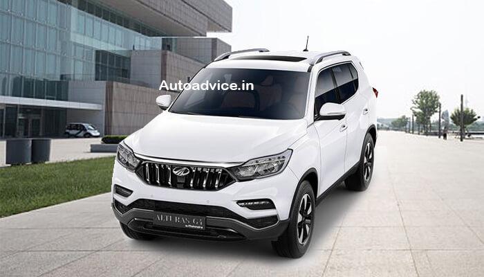 Mahindra SUV Alturas G4 front view