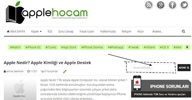 apple hocam abone ol