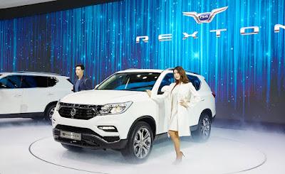 Η SsangYong αποκαλύπτει το νέο Rexton στη Σεούλ