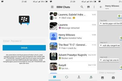 BBM Mod iOS Light v3.0.1.25 Apk Terbaru