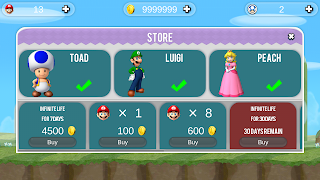 Mario hack Cho Android