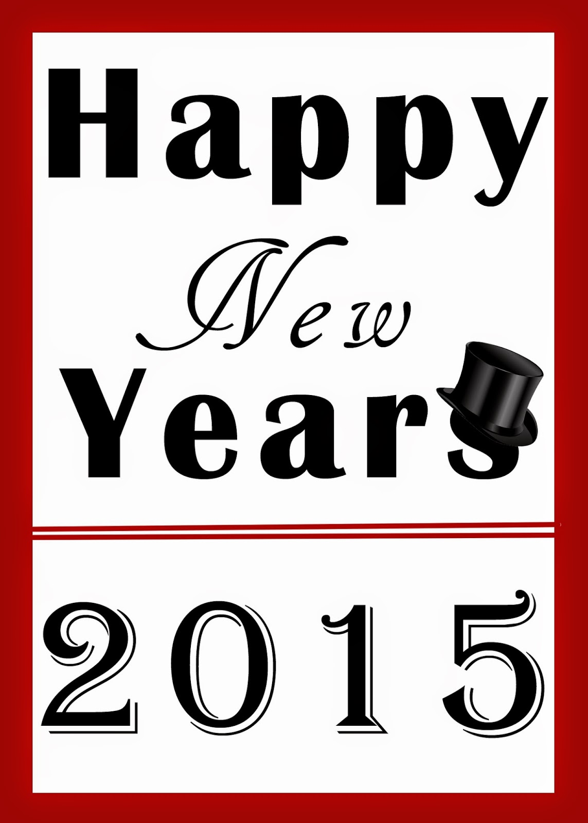 Family Strong Free New Years Printables