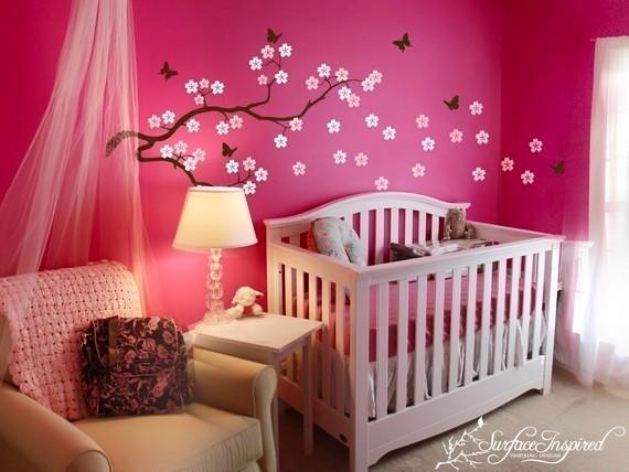 Hiasan Bilik Tidur Bayi Perempuan Desainrumahid