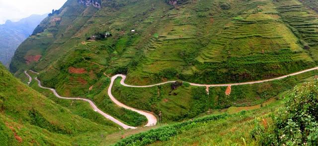Ma Pi Leng pass in Ha Giang 2