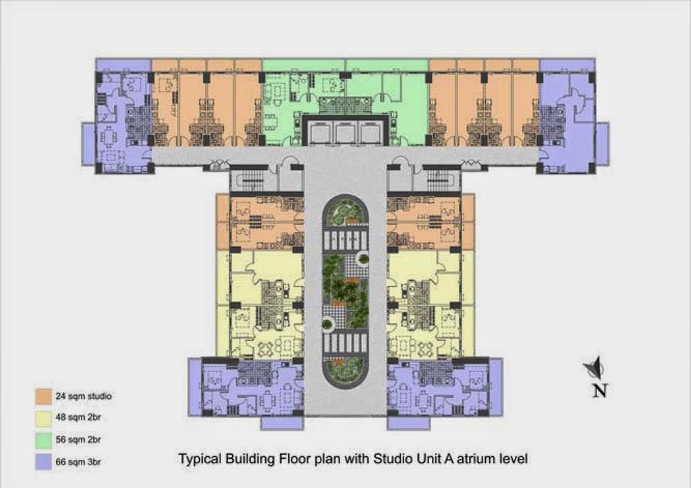 Illumina Residences Typical Garden Atrium Level