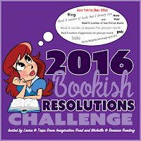 2016 Bookish Resolutions button
