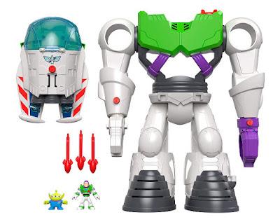 Imaginext TOY STORY 4 Robot Buzz Lightyear  Producto Oficial 2019 | Mattel GBG65 | A partir de 3-8 años  COMPRAR ESTE JUGUETE
