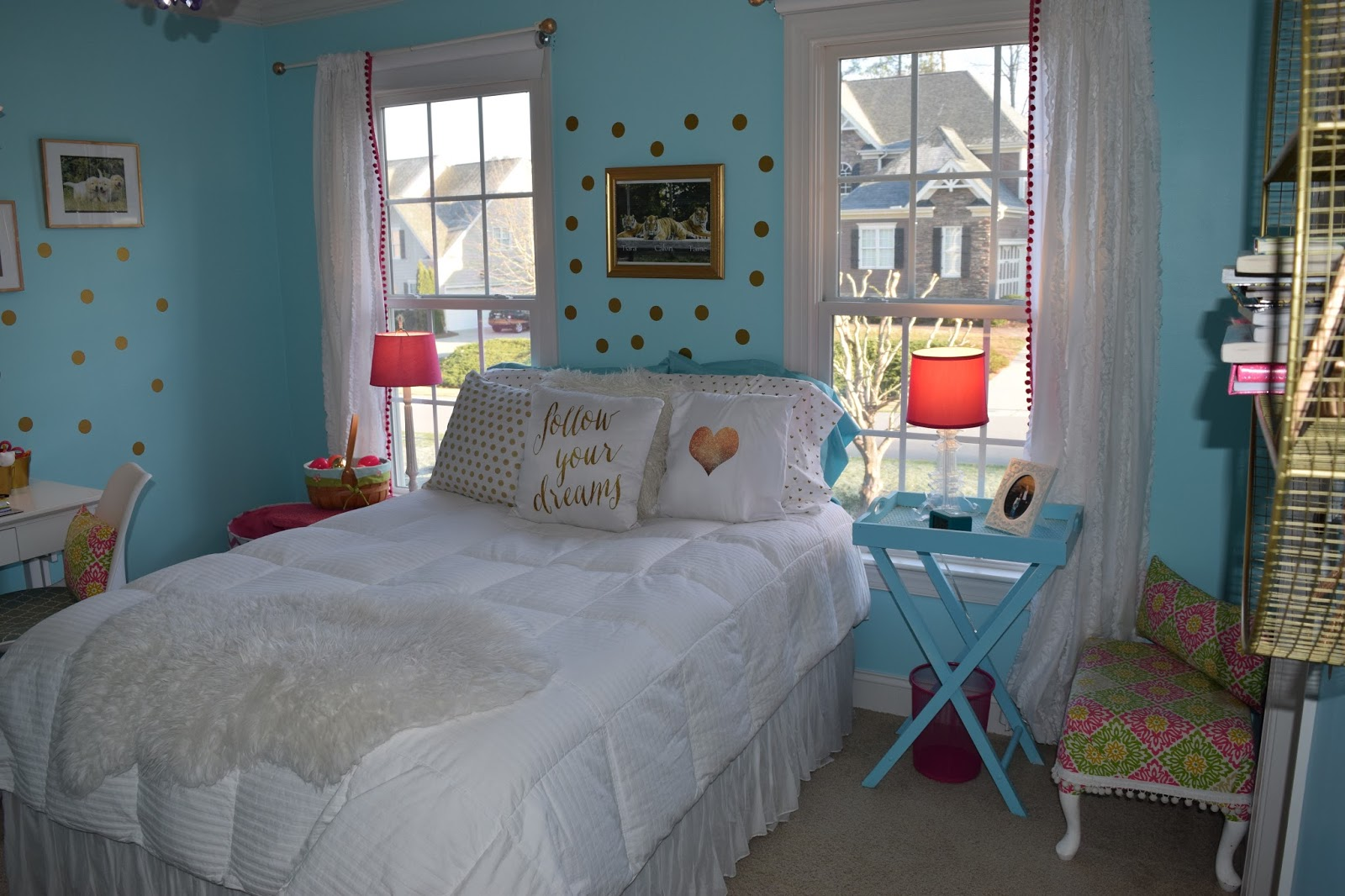 The chalkboard cottage 10 year old girl 39 s new room make for 10 by 12 bedroom