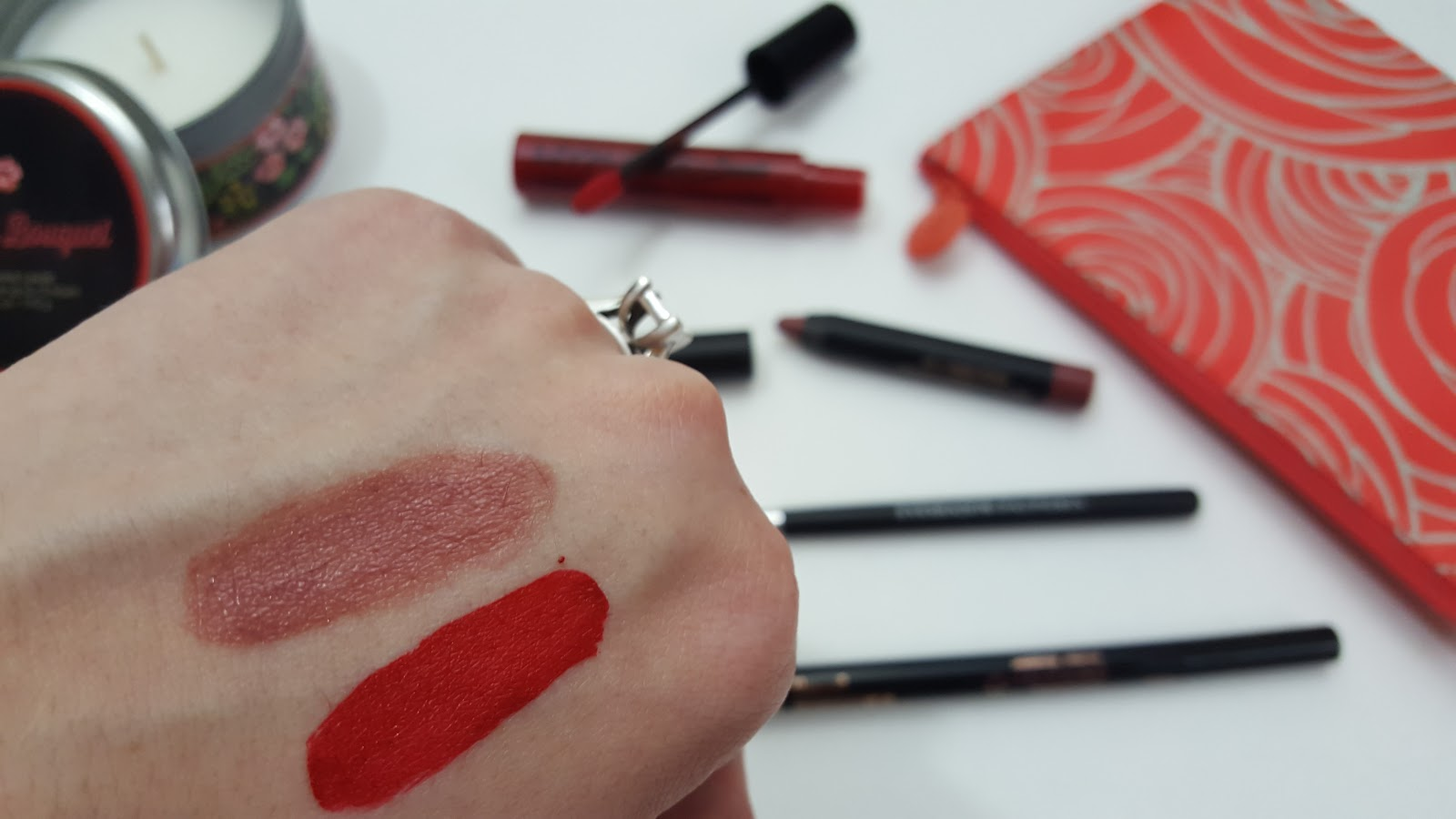 Nudestix lip and cheek pencil in mystic- swatch and review