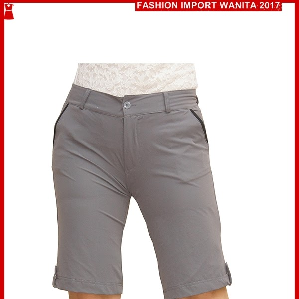 ADR058 Celana Wanita Grey Pendek Medium Import BMG