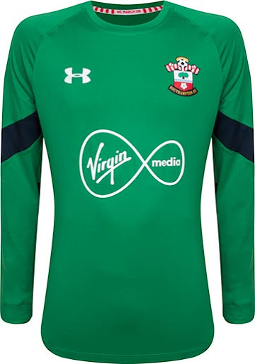 987ea78fc These are the new goalkeeper shirts set to be worn by Southampton in the  2016-17 season