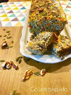 Recette cake veggie végétarienne aux lentilles