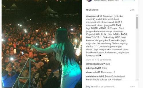 """Hot Dewi Persik Joget Pokemon """"Pokoke Montok"""""""