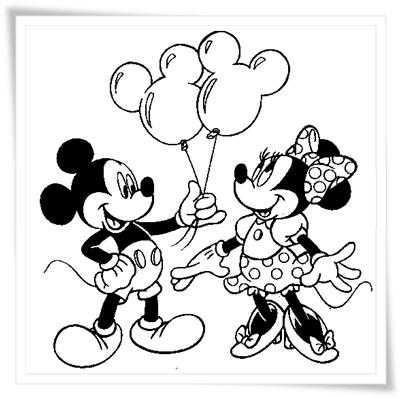 Ausmalbilder Zum Ausdrucken Ausmalbilder Micky Maus